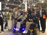 "The delegation of the Association ""AURA-tech"" visited the REHACARE trade fair in Dusseldorf."